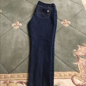 Michael Kors size 10 straight leg jeans